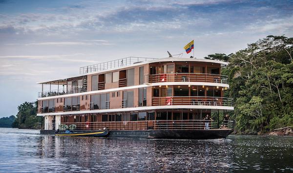 An Amazon cruise in Ecuador on the Anakonda cruise ship