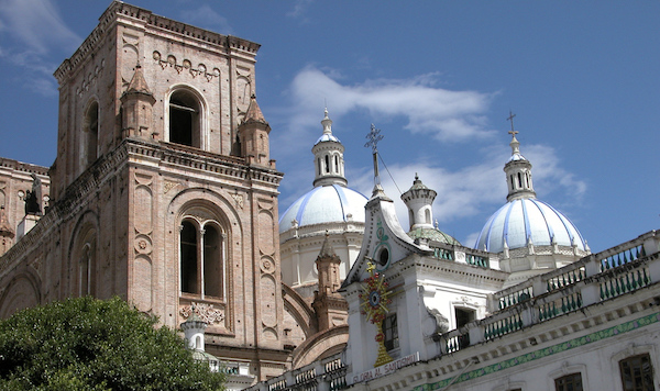 Cathedral of the Immaculate Conception in Cuenca Ecuador with Pie Experiences