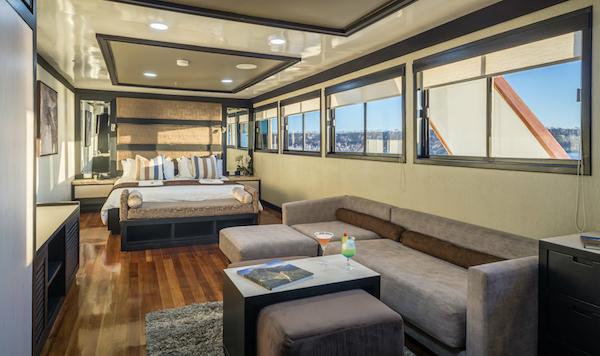 Photo of a double room on the cruise ship Galapagos Sea Star, Galapagos islands, Ecuador with Pie Experiences