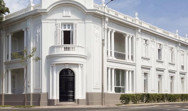 Hotel B Barranco, Lima, Peru, main entrance by Pie Experiences