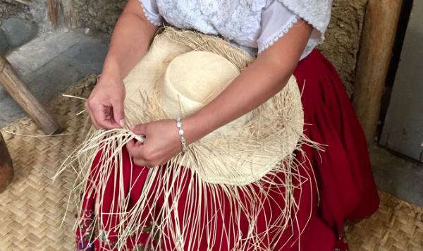 Panama Hat Factory in Cuenca Ecuador with Pie Experiences