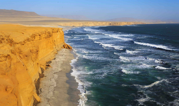 Paracas Nationa reserve in Ica Peru