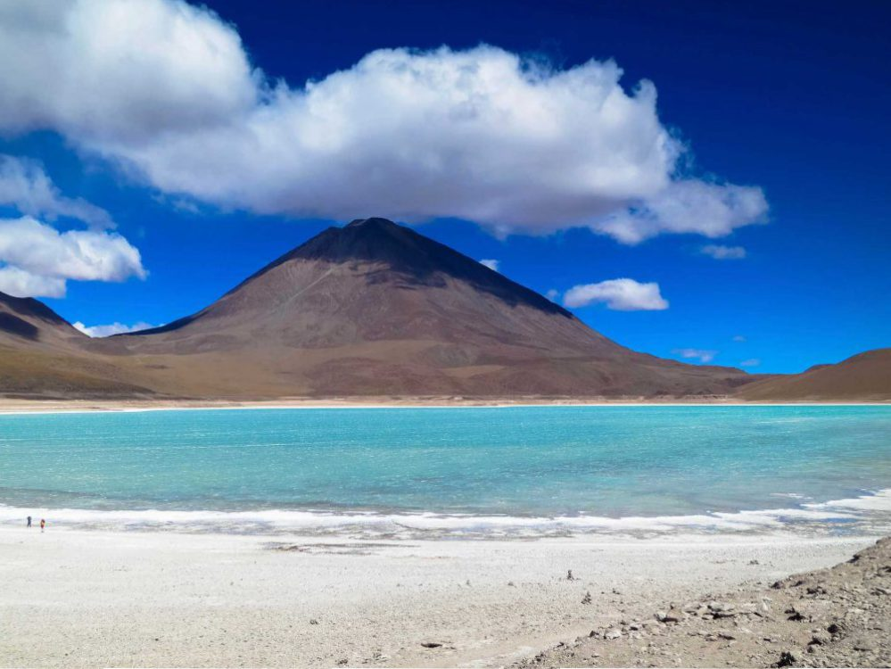 Lagunas altiplanicas in Bolivia