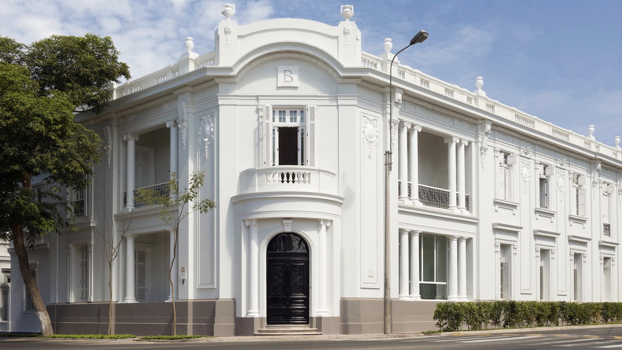 Hotel Boutique B, external facade, Barranco, Lima, Peru by Pie Experiences
